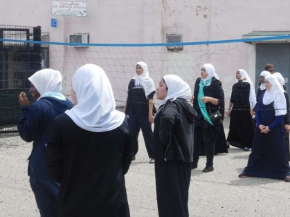 Al Aqsa Islamic Academy Students Playing Volleyball