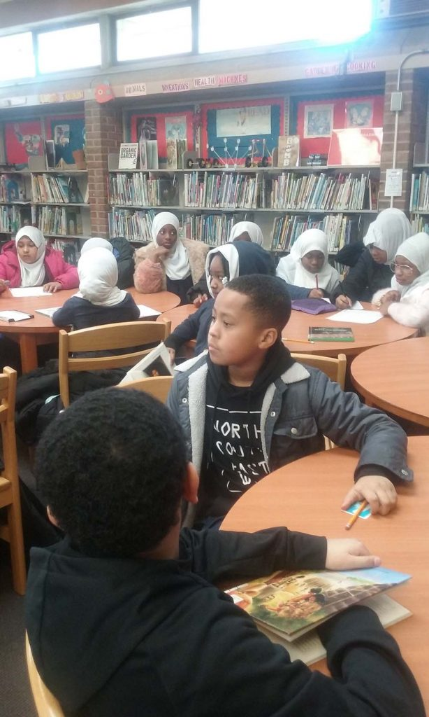 4th Grade Trip to the Library